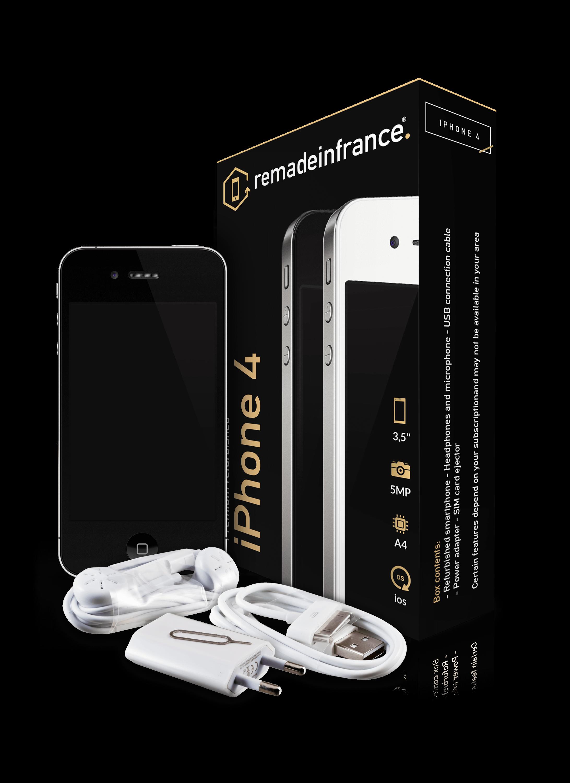 destockage apple iphone 4 noir 32go pas cher achat vente smartphone rueducommerce. Black Bedroom Furniture Sets. Home Design Ideas