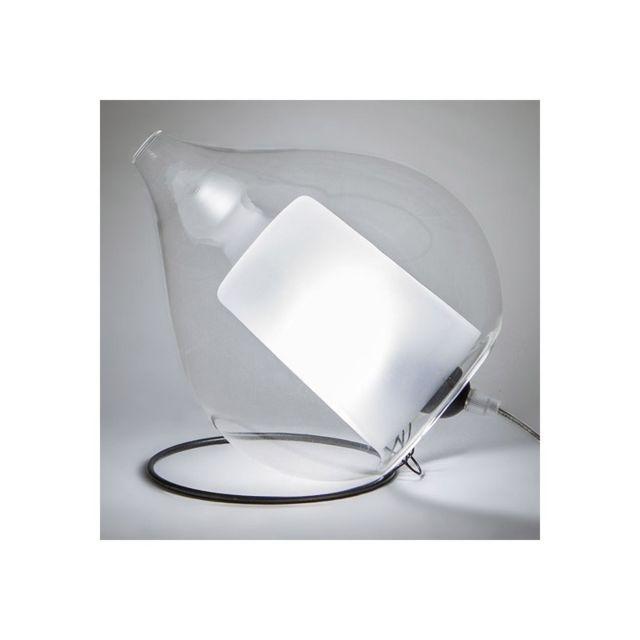 Concept Verre Lampe à poser design Circé Small Transparente