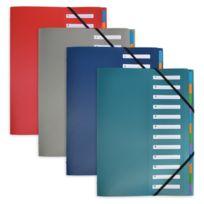 ELBA - CROSSLINE - Trieurs standard - 12 compartiments - A4
