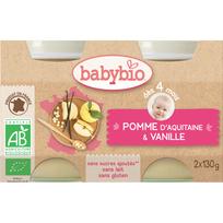 Babybio - Pot Pomme Vanille - Bio Ab