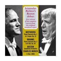 Archives Nationales - Beethoven : Concerto pour piano n 1 - Les créatures de Prométhée / Brahms : Concerto pour piano n 2