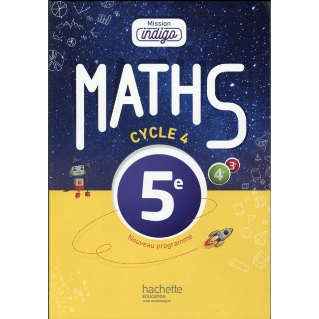 Mathematiques Cycle 4 5eme Livre De L Eleve Edition 2016