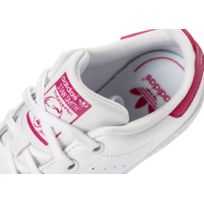 Adidas originals - Stan Smith Enfant Blanche Et Rose