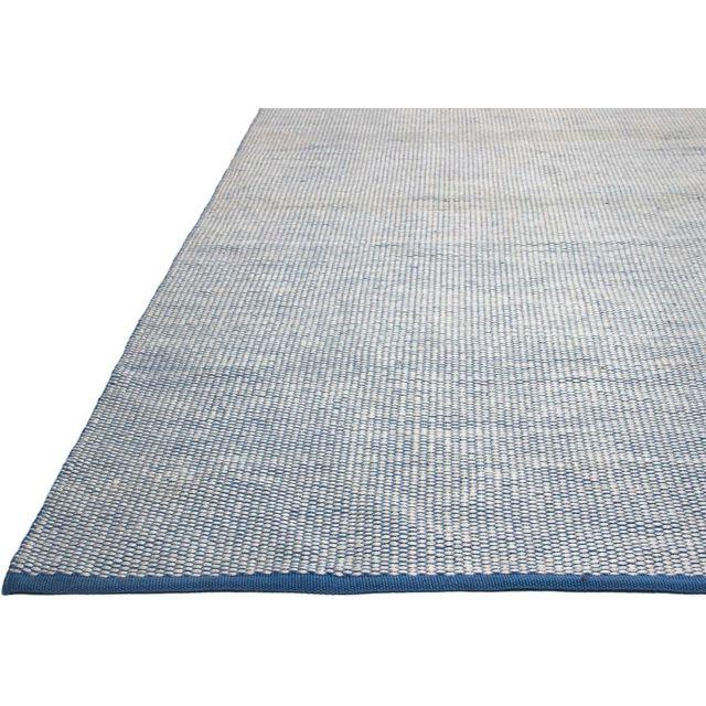 Tapis intérieur extérieur Ranikot bleu 90 x 60 cm