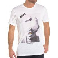 French Kick - Tee-shirt blanc imprimé star