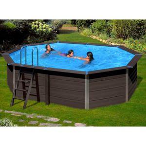 Gre piscine composite avant garde ovale 6 64 x 3 86 x 1 for Piscine 86
