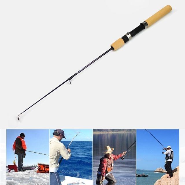 Wewoo - Cannes à pêche 31cm canne à de glace portative à à la crevette  leurre 2f04de929c3