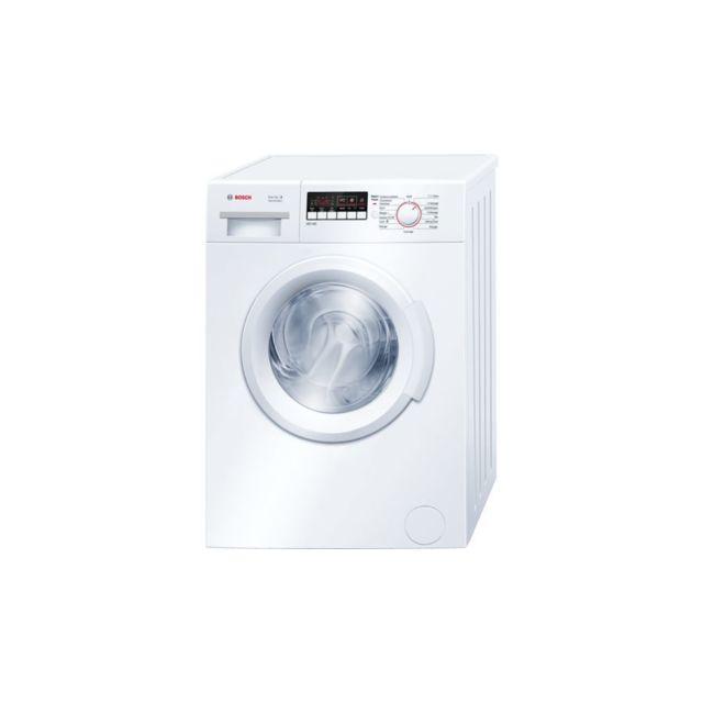 Bosch Lave-linge avec VarioPerfect - WAB24211FF - Blanc