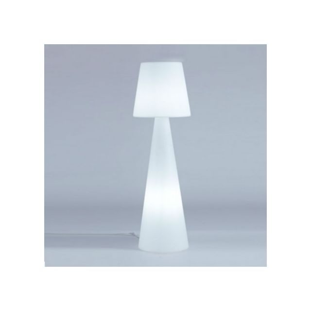 Slide - Lampadaire lumineux Pivot Ali Baba intérieur Blanc - 200cm x 200cm x 53cm