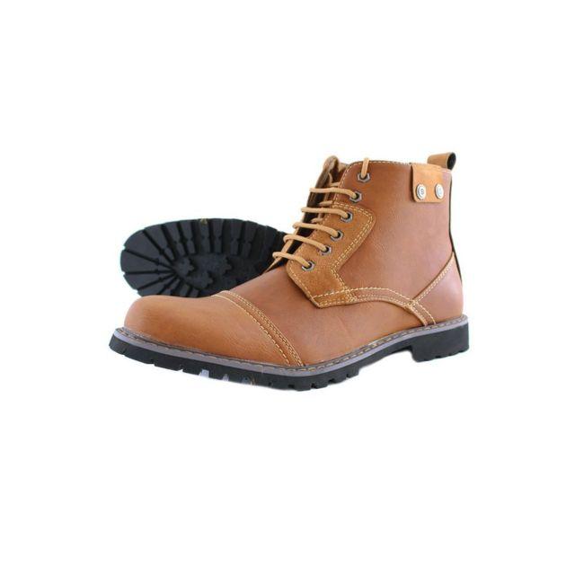 Reservoir Shoes - Boots tendance homme Misel Marron