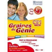 Mindscape - Graines De Génie Ce1 2009/2010 Dvd-Rom