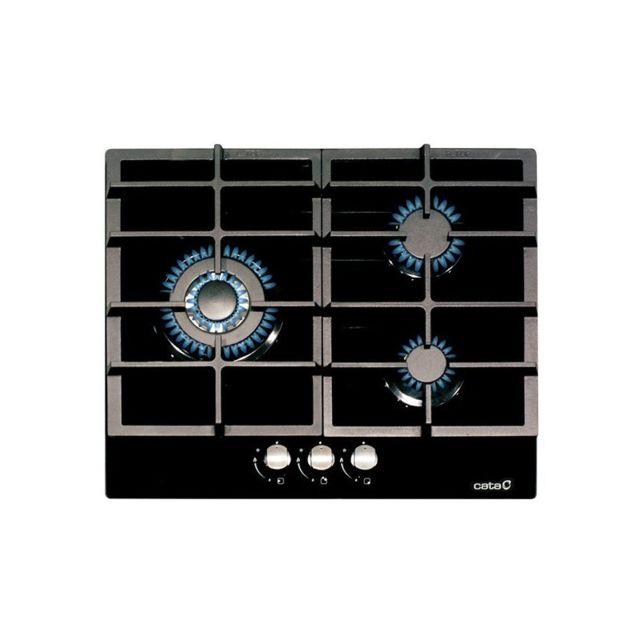 Cata Plaque au gaz Lci6021BK 60 cm 3 Cuisinière