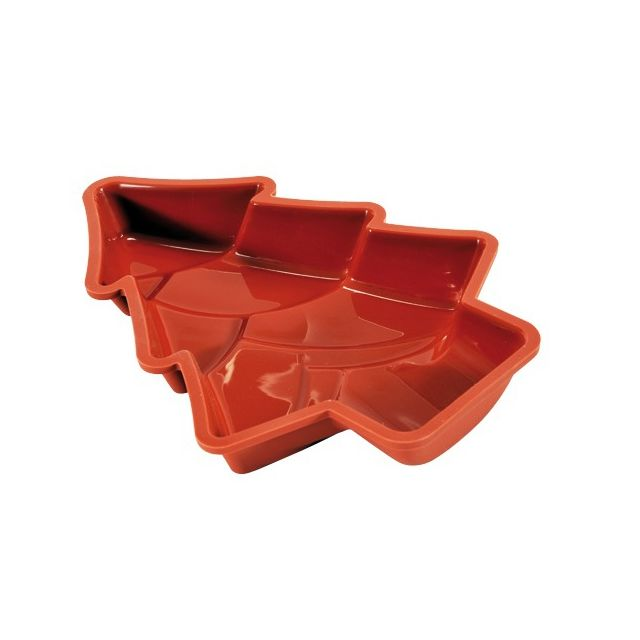 Guery Moule silicone forme sapin 28 x 20 cm
