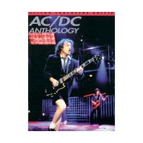 Music Sales - Partition : Ac/DC tab anthology