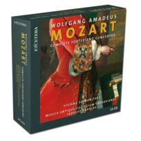 Etcetera - Wolfgang Amadeus Mozart - Intégrale des concertos pour piano, Concertos pour 2 et 3 pianos, Rondo K.382, Concertos pour clavecin no. 1, 2 et 3 K.107 Coffret