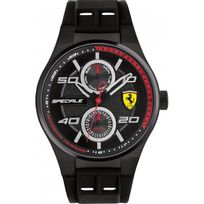Ferrari Montres - Montre Ferrari Speciale 0830356 - Montre Silicone Multifonction Homme