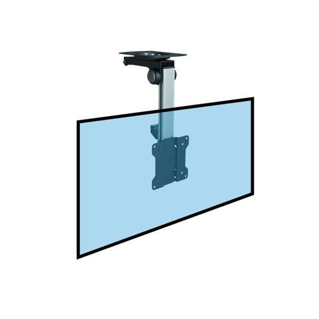 kimex support plafond escamotable pour cran tv 13 39 39 23 39 39 haut 18 31cm pas cher achat. Black Bedroom Furniture Sets. Home Design Ideas