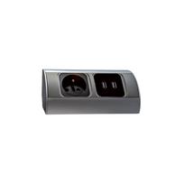 Orno - Bloc prises cuisine avec 2 prises Usb pour charger vos appareils