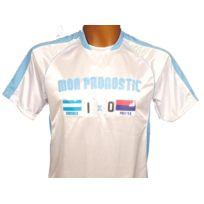 Pronostic T-shirt - Maillot de football Pronostic marseille Blanc 80438