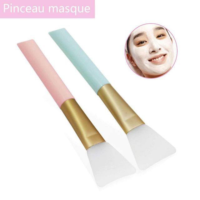 brosses de masque facial