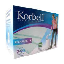 Korbell - Recharges à couches x3 pour poubelle 15L