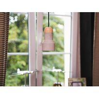 Beliani - Lampe de plafond - suspension - gris et marron - Apure