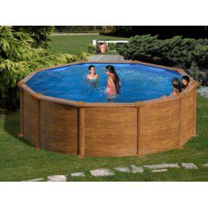 gr pools pool zen spa kit piscine hors sol acier gr dreampool maldivas ronde x 1. Black Bedroom Furniture Sets. Home Design Ideas
