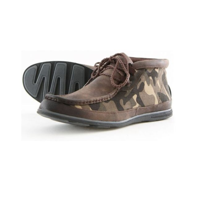 6TO5 Low boots homme 1389-2 Marron