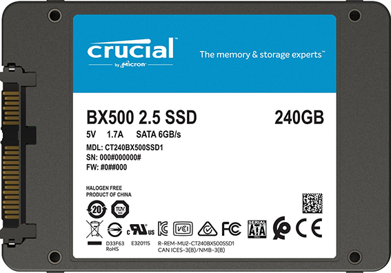 ssd crucial bx500 240 go CT240BX500SSD1