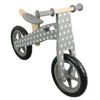 MONSIEUR BEBE - Draisienne en bois, vélo sans pédale avec selle réglable - Marron