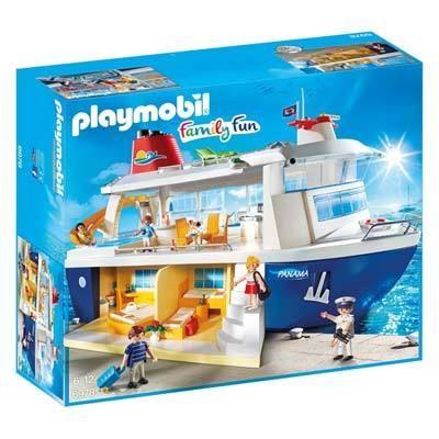 Playmobil - 6978-Bateau de croisière - Family fun