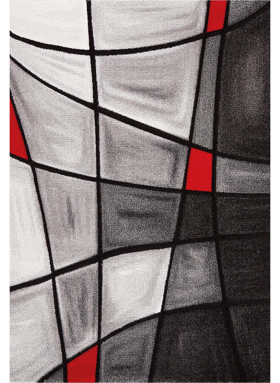 Tapis BRILLANCE ZAG rouge Tapis Moderne 60 x 110 cm rouge 60 x 110 cm