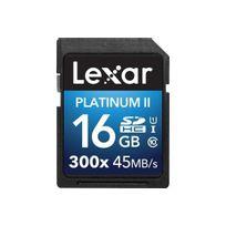 LEXAR - Carte mémoire SD Premium II SD 16Go Class 10 300X