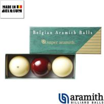 Aramith - Billes Super Carambole 61,5 mm