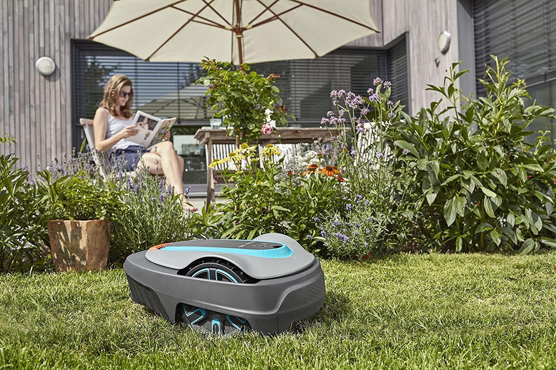 Robot tondeuse connecté smart SILENO City 500m²