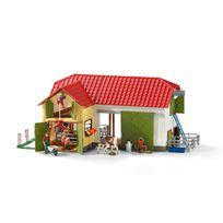SCHLEICH - Grande ferme avec animaux et accessoires - 42333