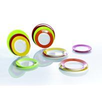 Gimex - Set de vaisselle Rainbow, 12 pièces