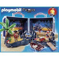 Playmobil - Ile au Trésor des pirates transportable - 5347