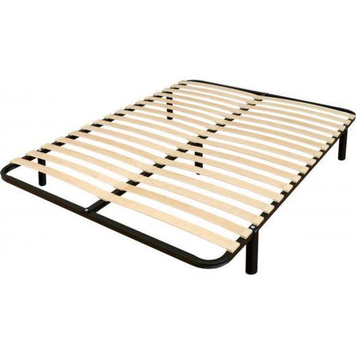declikdeco sommier en kit 140x190cm tucuti noir 140cm x 190cm pas cher achat vente. Black Bedroom Furniture Sets. Home Design Ideas