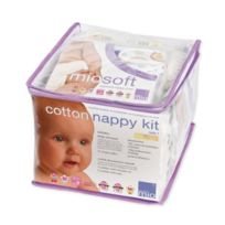 Bambinomio - Cnkgtt2 - Cotton Nappy Kit - 6-18 Mois