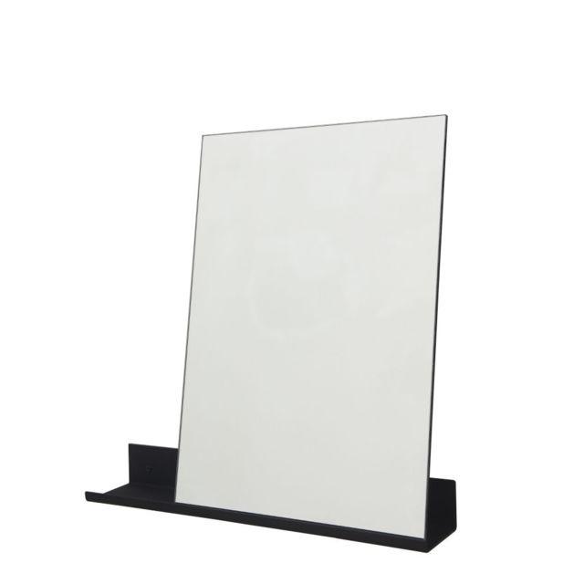 Frama Miroir Ms-1 laqué noir Largeur 70 cm