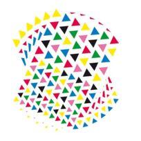 Majuscule - gommette triangulaire - blister de 2720