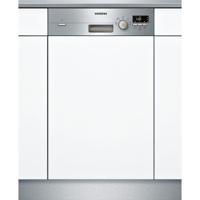 SIEMENS lave-vaisselle 45cm 9c 46db a+ intégrable avec bandeau inox - sr515s03ce