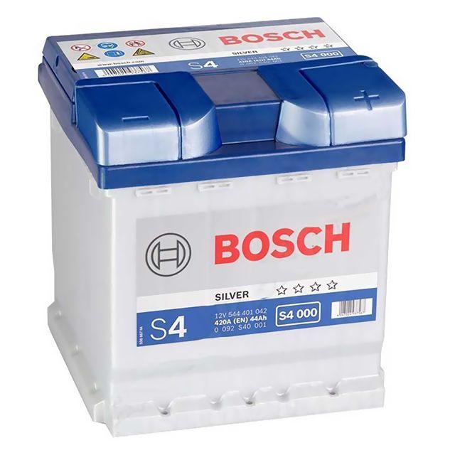 bosch batterie s4000 44ah 420a pas cher achat vente. Black Bedroom Furniture Sets. Home Design Ideas