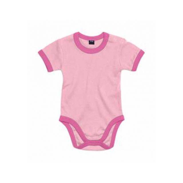 Babybugz - body bébé jambes manches courtes - Bz19 - rose - pas cher ... 993514606df