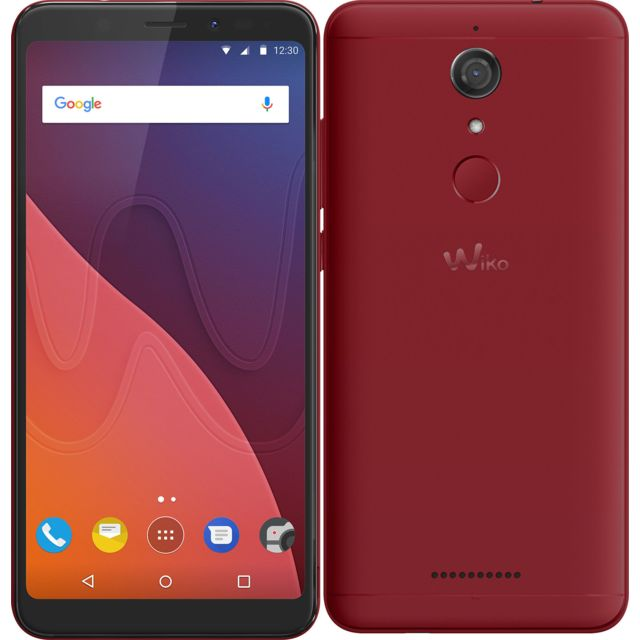 WIKO View - 32 Go - Rouge