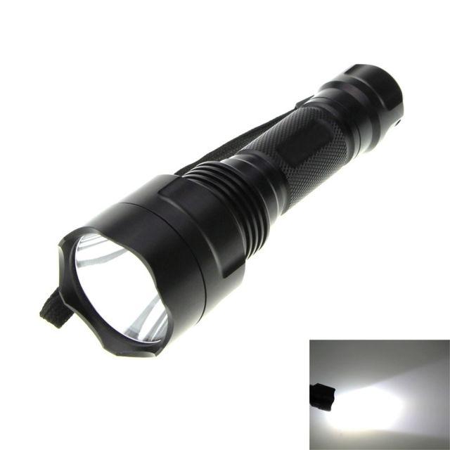 Lampe 800lm 2 Cree L2 Poche 5 Blanc De 8a Modes Torche Xm Wewoo vN08nwm