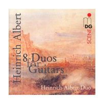 Mdg - 8 duos pour guitare