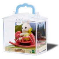Sylvanian Families - Sylvanian Family 3340 : Valisette figurine avec accessoire : Lapin