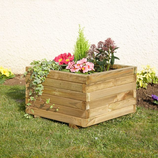 cemonjardin jardini re carr e primo 50 pas cher achat vente poterie bac fleurs. Black Bedroom Furniture Sets. Home Design Ideas